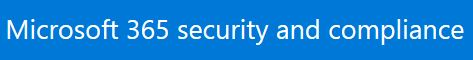 Message trace Microsoft 365 security and compliance