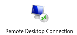 Remote Desktop Connection – inside office LAN